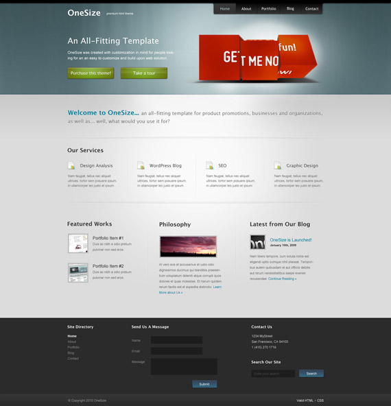 One-size-web-design-interface-inspiration-deviantart