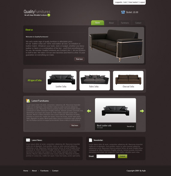 Quality-furnitures-web-design-interface-inspiration-deviantart