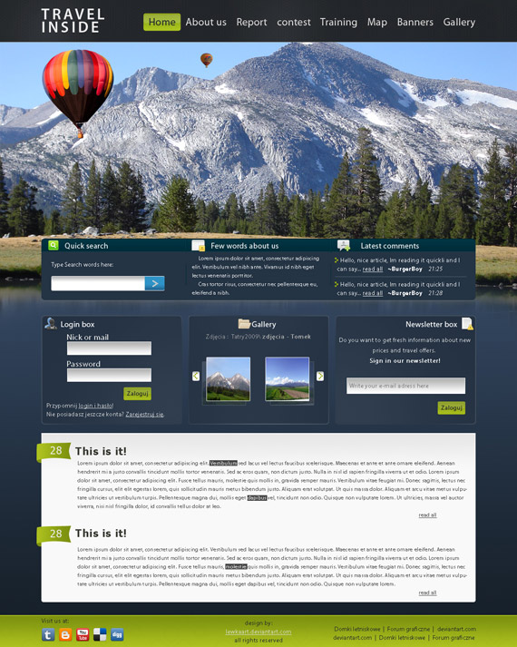 Travel-inside-web-design-interface-inspiration-deviantart