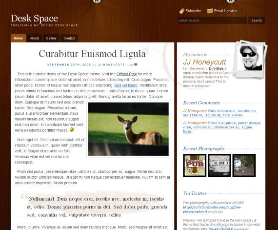 Deskspace-free-portfolio-wordpress-themes