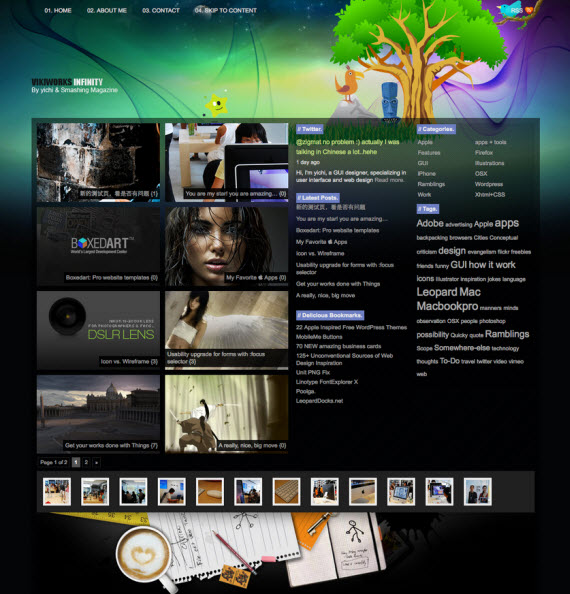 Infinity-free-portfolio-wordpress-themes