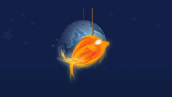 How to create a firefish mascot