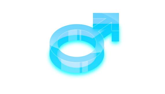 How to create a glossy 3d arrow