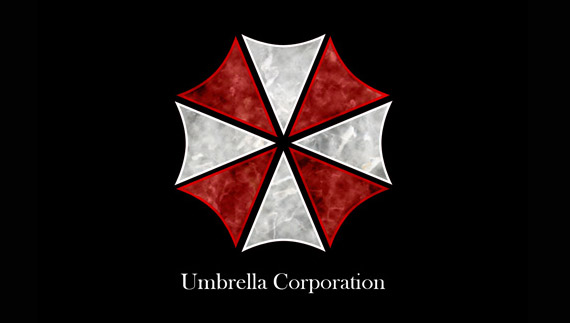 How to create umbrella corporation logo