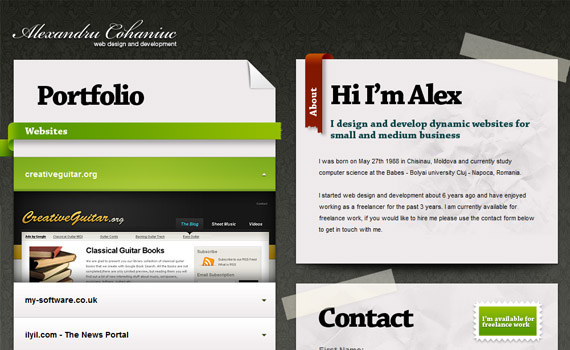 Alex-cohaniuc-jquery-accordion-menus-resources-tutorials-examples