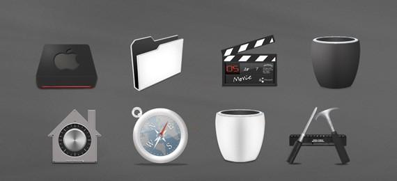 Nano icon set - Dock icon