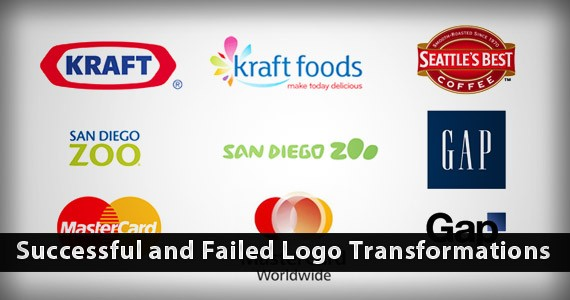Successful and Failed Logo Redesigns