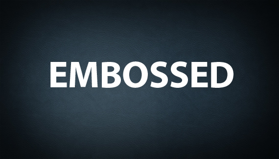 Super Simple Emboss Photoshop Text And Lettering Tutorial