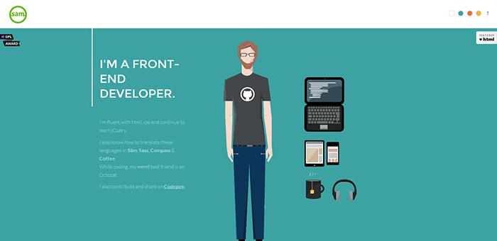 40 Flat Web Design Inspiration Websites In 2016