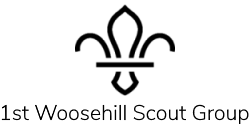 1st Woosehill Scout Group Logo