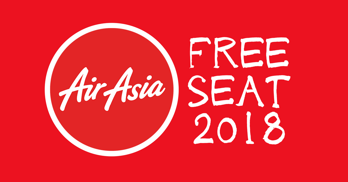 AirAsia FREE SEAT 2018 / 2019 Coming Soon! (Mark Down the Date)