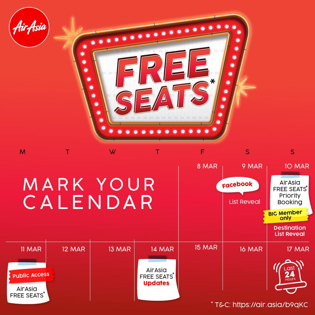 AirAsia-Free-Seat-2019-March-Promotion