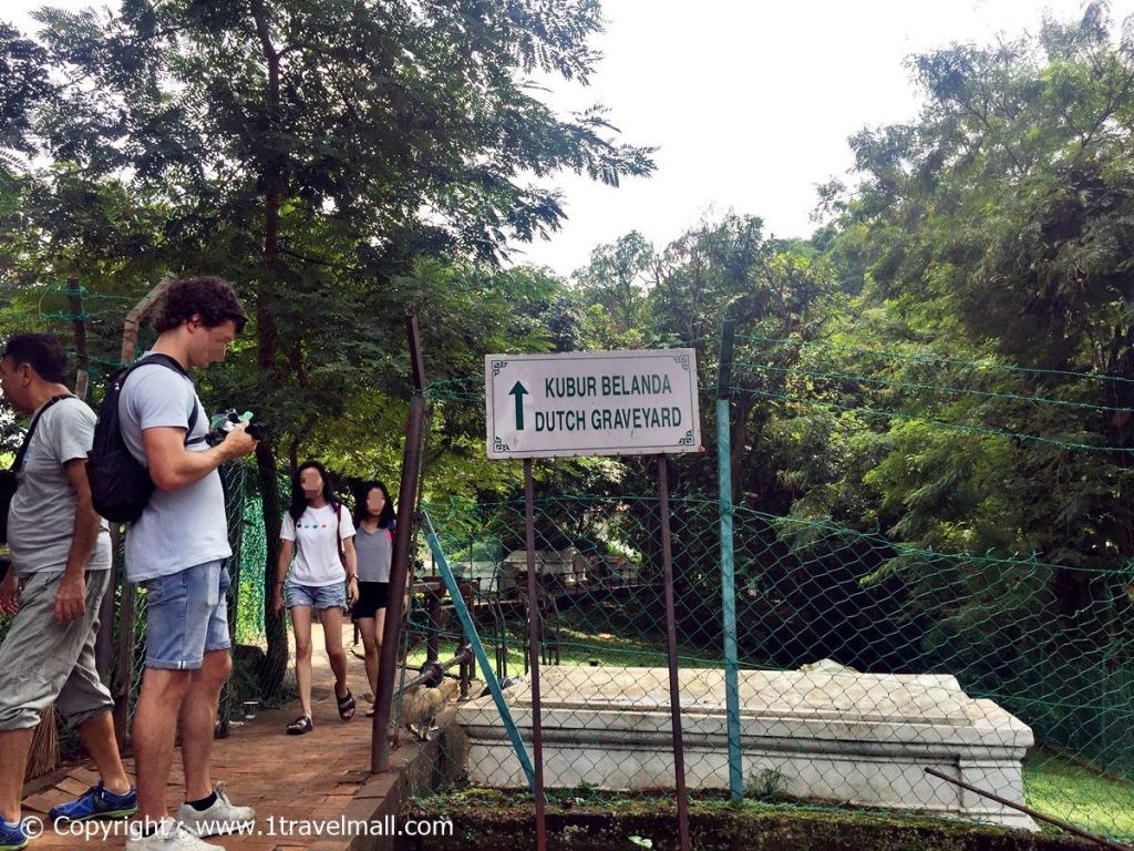 Dutch Graveyard – behind A Famosa, Malacca