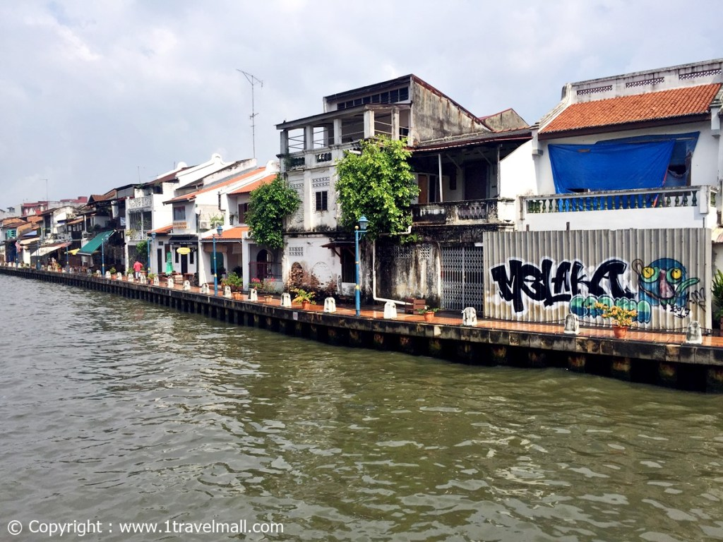 Malacca Riverside houses