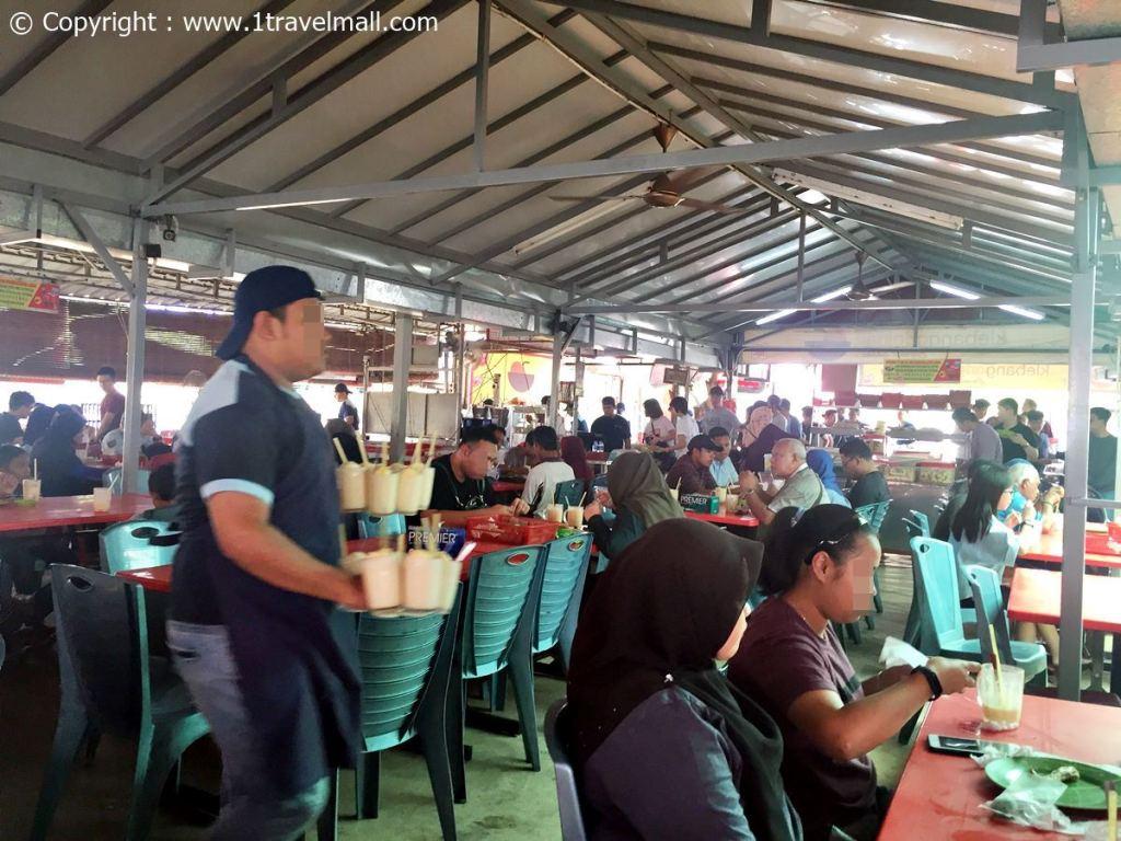 inside Klebang Original Coconut Shake