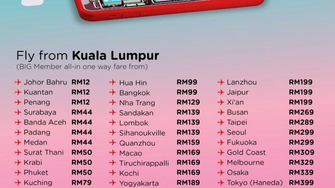AirAsia Free Seat November 2019