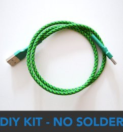 diy no solder usb cable kit multicolors 0 [ 1000 x 1000 Pixel ]