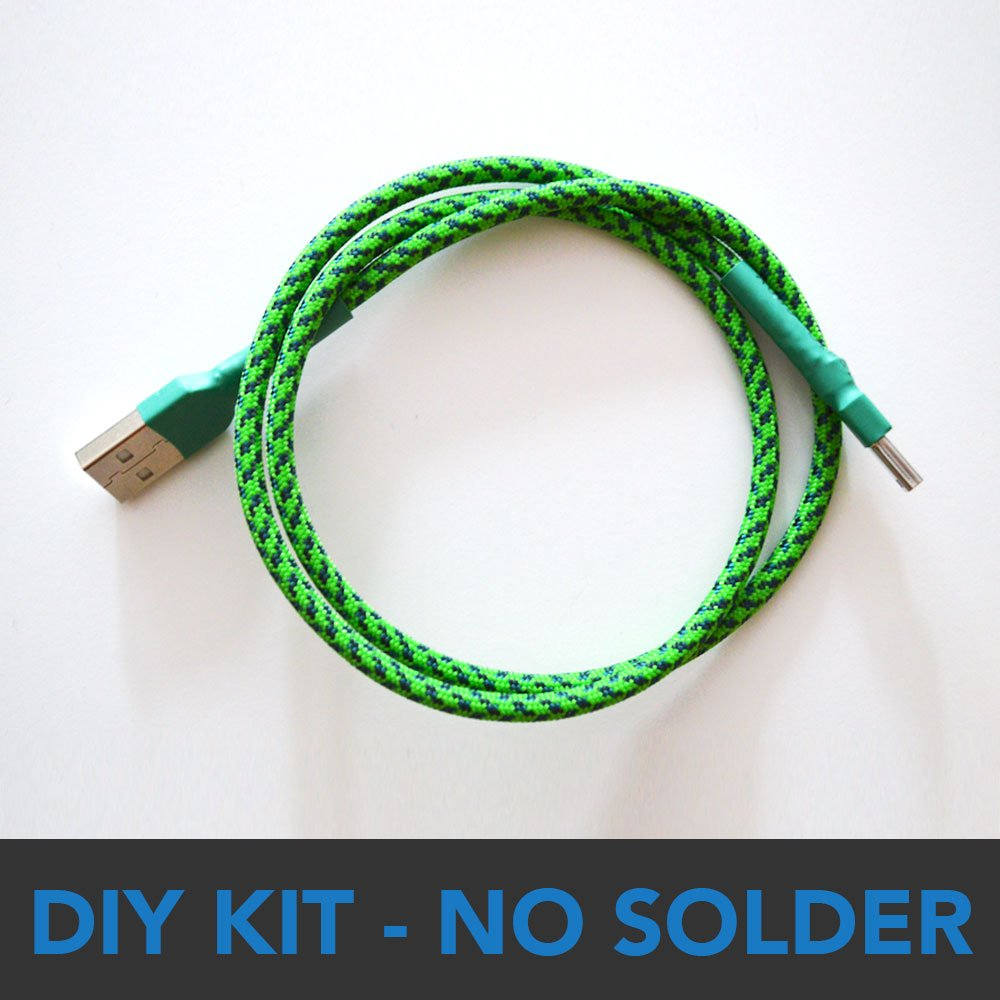 hight resolution of diy no solder usb cable kit multicolors 0