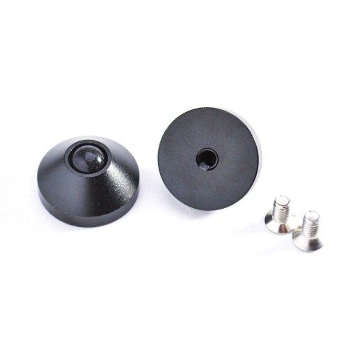 DIY TKL 2-Plate Carbon Fiber Keyboard Kit Black-1267