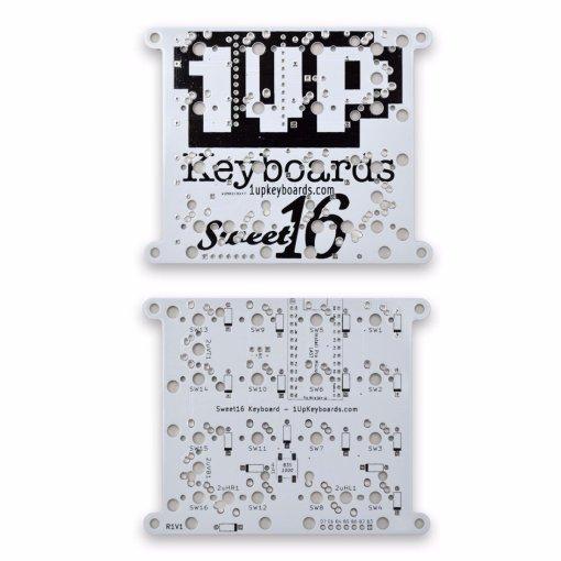 Sweet 16 Macro Pad White