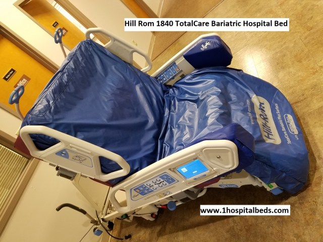Hill Rom 1840 TotalCare Bariatric Hospital Bed for sale 858-263-4894