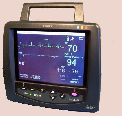 Philips Telemon B Vital Sign Monitors   Used Hospital