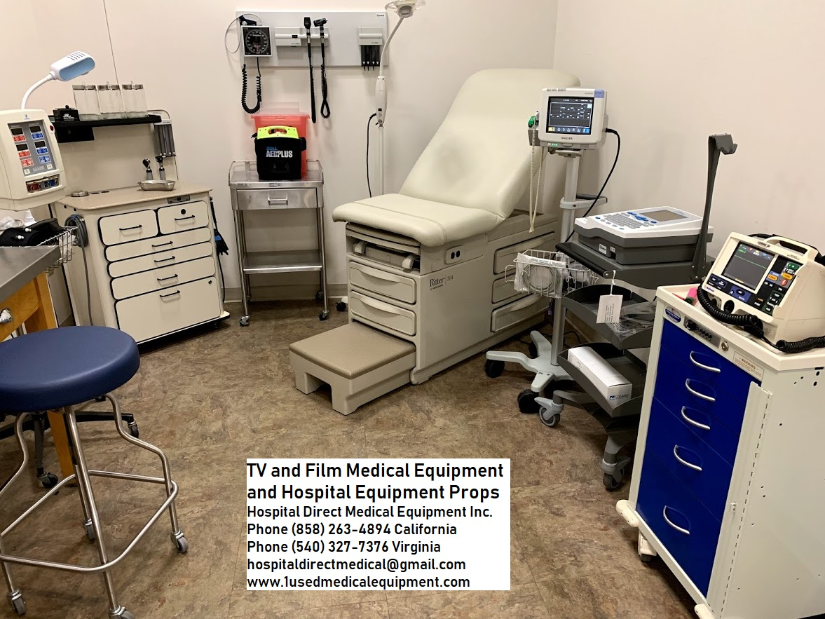 Hospital and Medical Equipment Props for Film TV and Theater