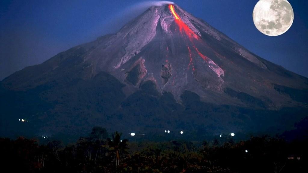 Rêver d'un volcan ou d'une éruption
