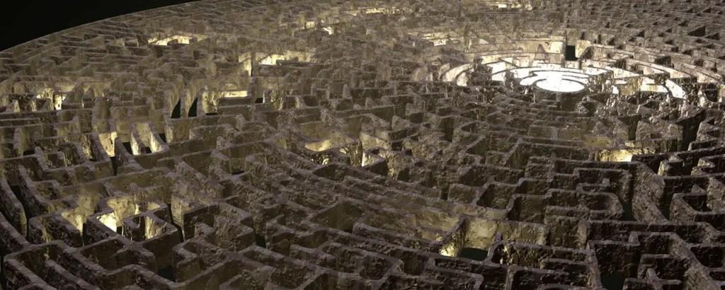 Rêver d'être dans un labyrinthe
