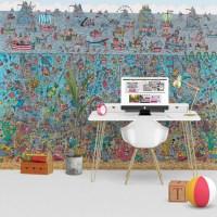 1Wall Where's Wally Deep Sea Feature Wall Wallpaper Mural ...
