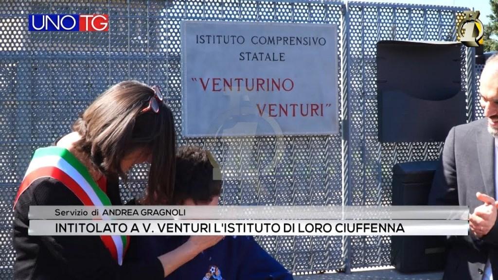Intitolato a V. Venturi l'Istituto di Loro Ciuffenna
