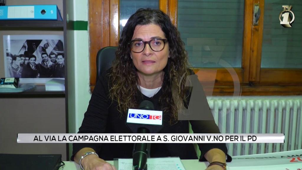 Al via la campagna elettorale a San Giovanni V.no per il PD