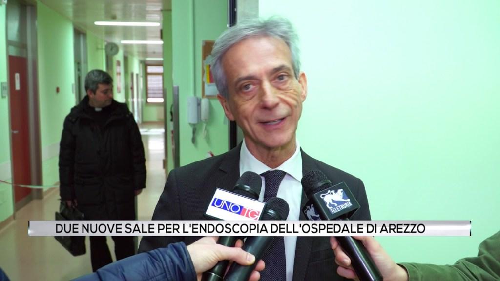 Due nuove sale per l'endoscopia all'ospedale di Arezzo.