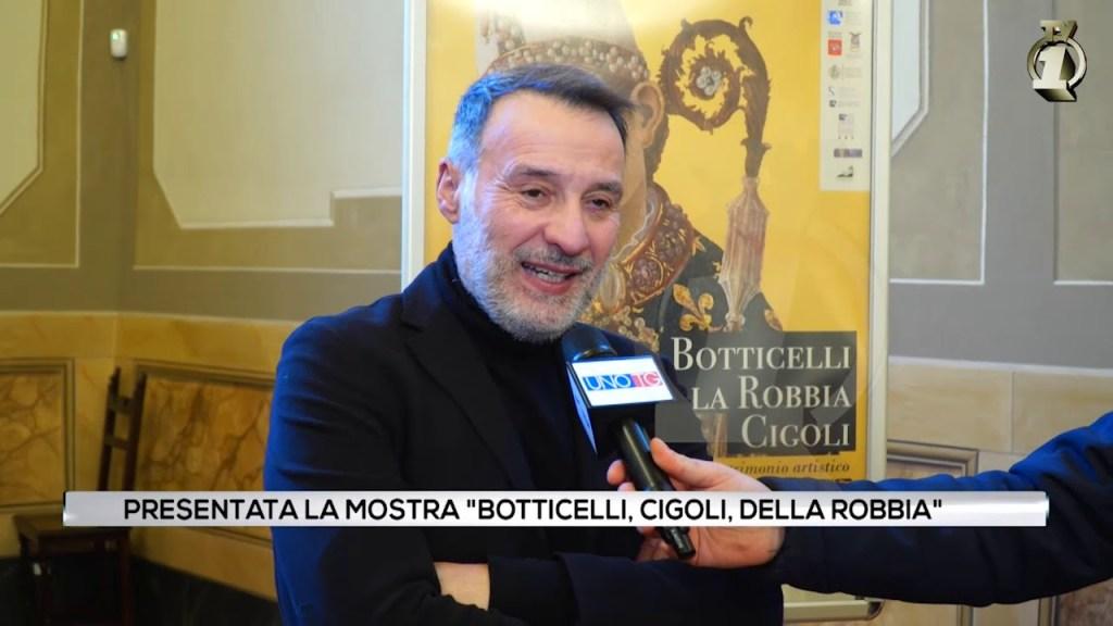 Presentazione della mostra Botticelli, Della Robbia, Cigoli