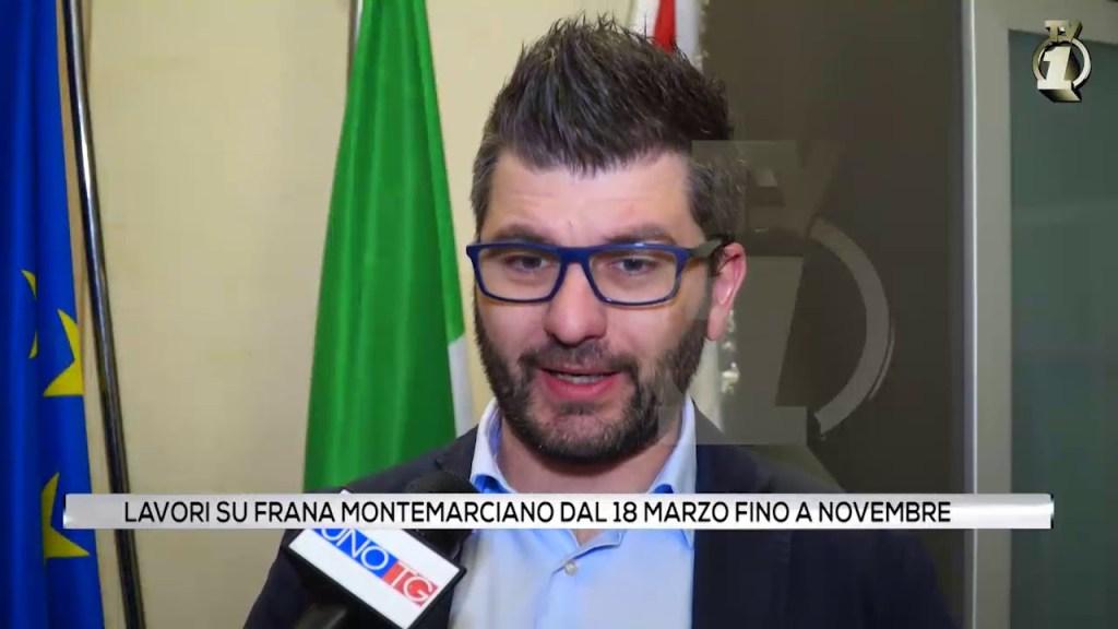 Lavori su frana Montemarciano dal 18 Marzo fino a Novembre