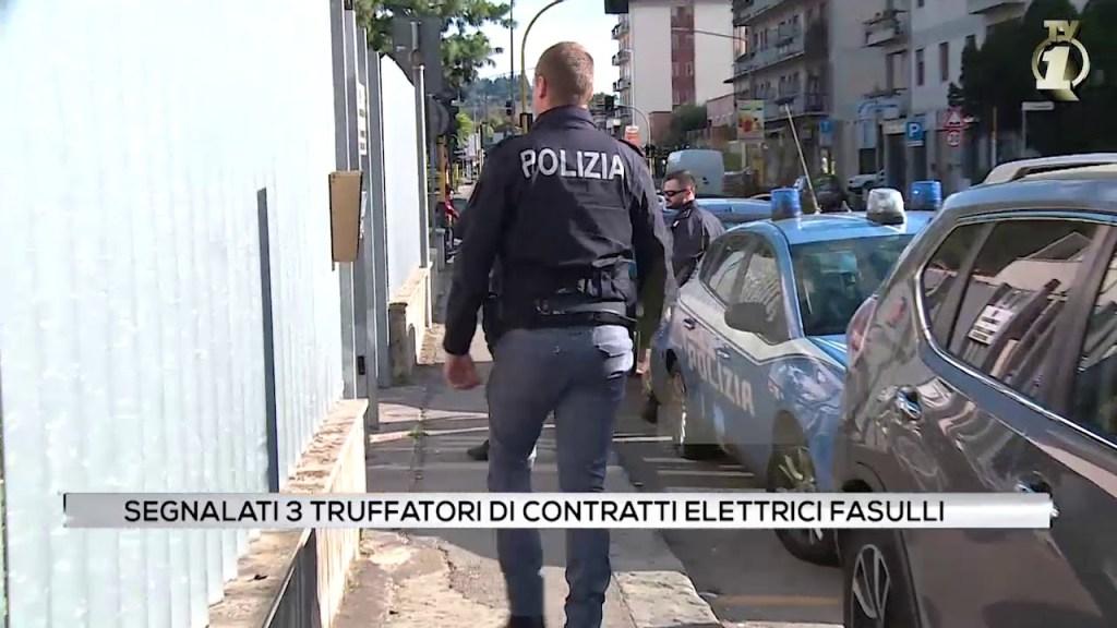 Segnalati tre truffatori di contratti elettrici fasulli