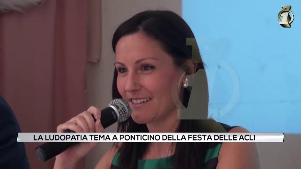 La ludopatia tema a Ponticino della festa delle Acli