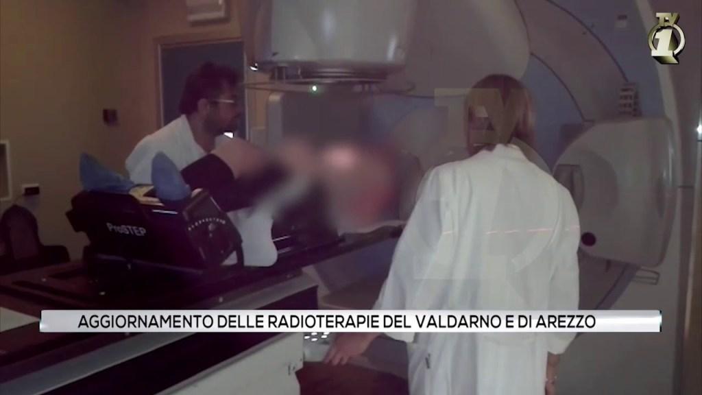Aggiornamento delle radioterapie del Valdarno e di Arezzo