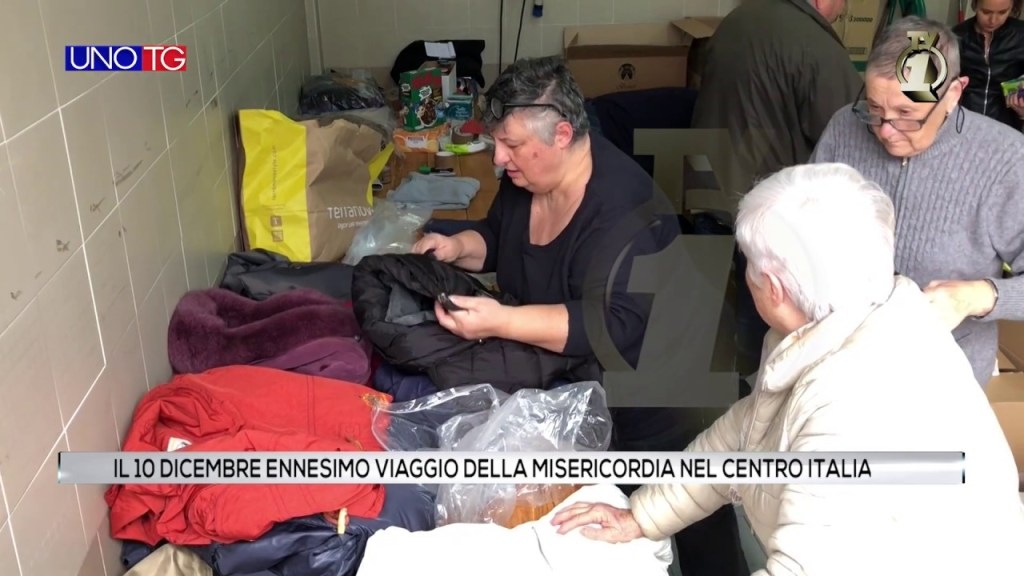 Nuovo viaggio della Misericordia nel centro Italia