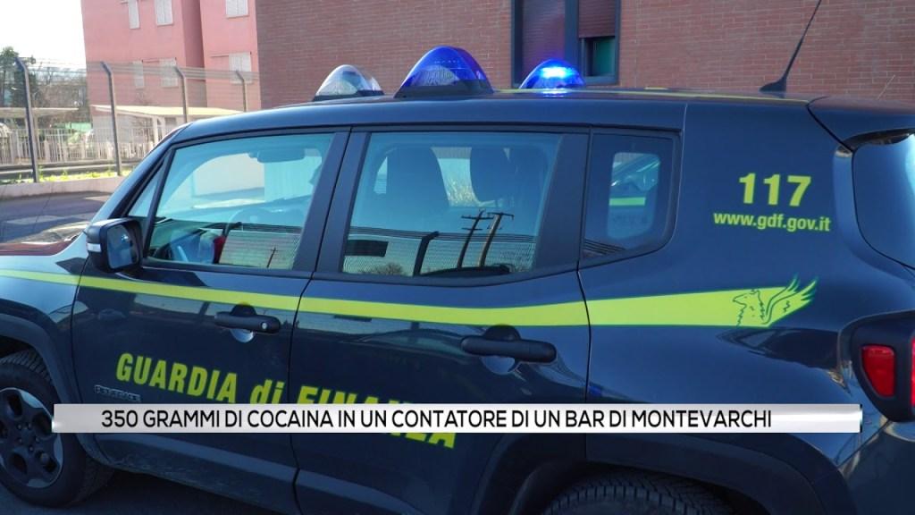 350 grammi di cocaina in un contatore di un bar di Montevarchi