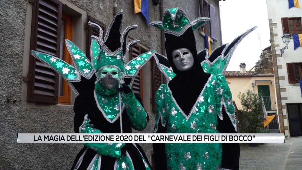 """La magia dell'edizione 2020 del """"Carnevale dei figli di Bocco"""""""