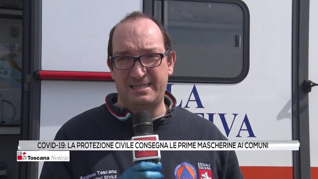 Covid-19: la protezione civile consegna le prime mascherine a i Comuni
