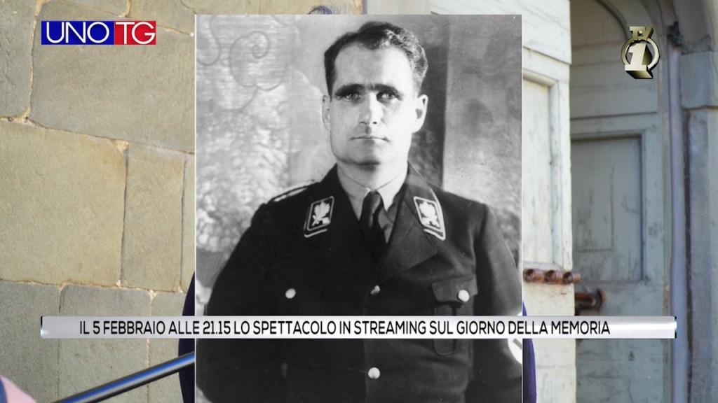 Spettacolo in streaming sul giorno della MEMORIA