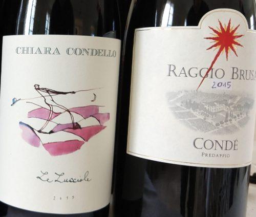 Condé Le Lucciole and Raggio Brusa