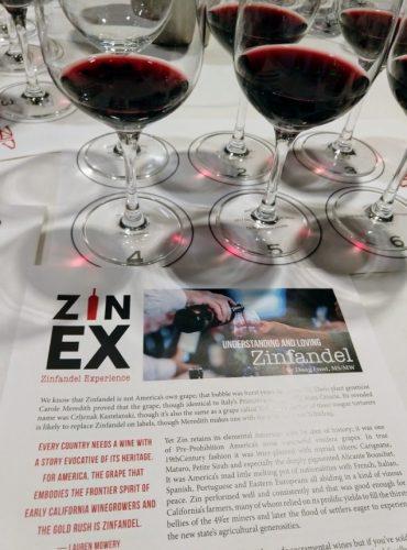 ZinEx tasting