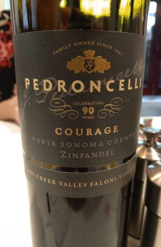 Pedroncelli Courage