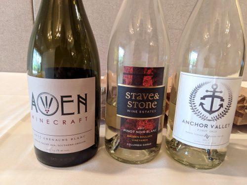 2018 Oregon Wine Experience Doble Gold whites