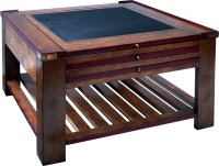 Game Table - Red Finish
