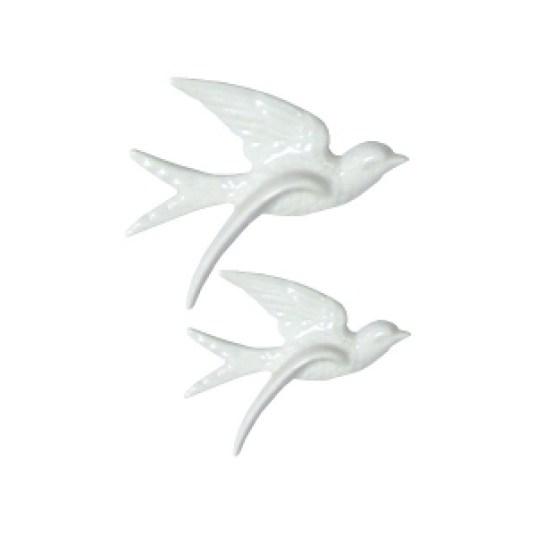fugle hvid