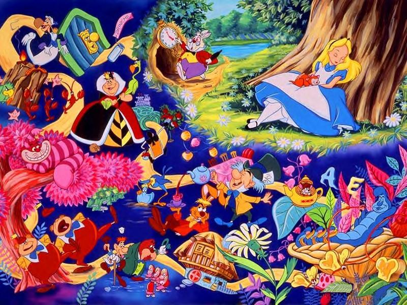 Foto Disney Alice im Wunderland  Animationsfilm